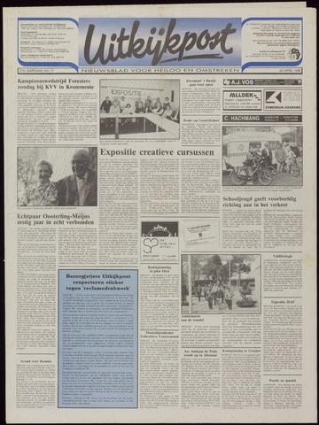 Uitkijkpost : nieuwsblad voor Heiloo e.o. 1992-04-22