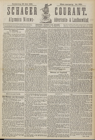 Schager Courant 1920-05-20