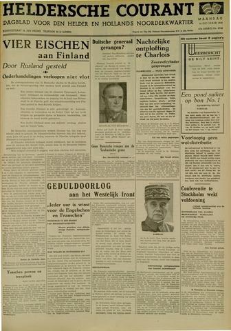 Heldersche Courant 1939-10-16