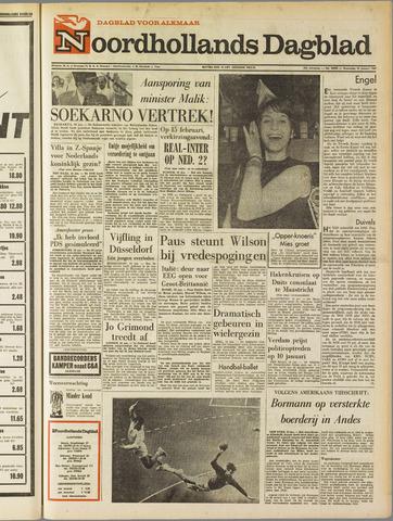 Noordhollands Dagblad : dagblad voor Alkmaar en omgeving 1967-01-18