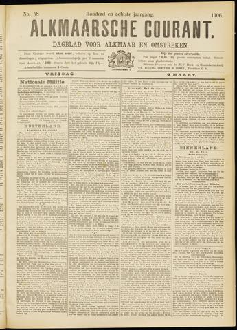 Alkmaarsche Courant 1906-03-09