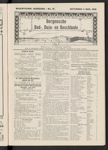 Bergensche bad-, duin- en boschbode 1928-08-04