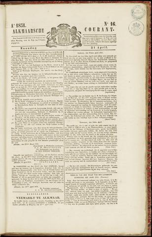 Alkmaarsche Courant 1851-04-21