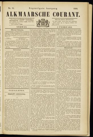 Alkmaarsche Courant 1888-02-03