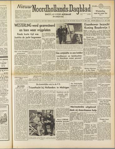 Nieuw Noordhollandsch Dagblad : voor Alkmaar en omgeving 1952-04-17