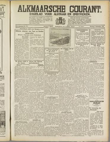 Alkmaarsche Courant 1941-09-09