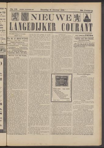 Nieuwe Langedijker Courant 1925-10-31