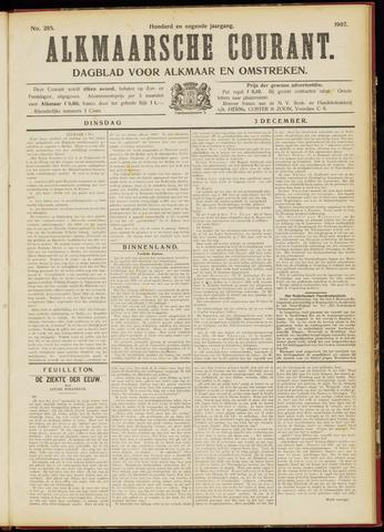 Alkmaarsche Courant 1907-12-03