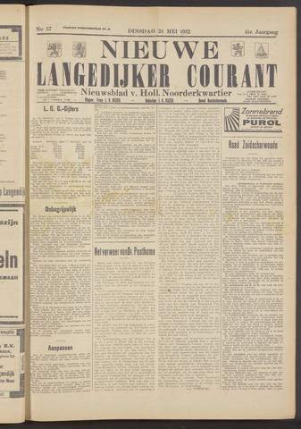 Nieuwe Langedijker Courant 1932-05-24