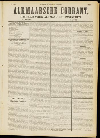 Alkmaarsche Courant 1913-06-03