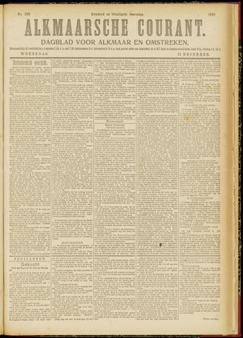 Alkmaarsche Courant 1918-12-11