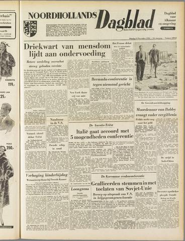 Noordhollands Dagblad : dagblad voor Alkmaar en omgeving 1953-11-24