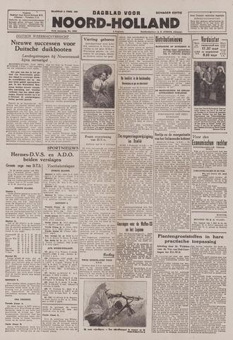 Dagblad Noord-Holland, Schager editie 1943-02-08
