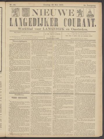 Nieuwe Langedijker Courant 1899-05-28