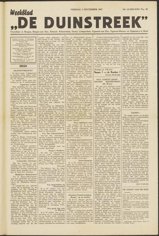 De Duinstreek 1947-12-05