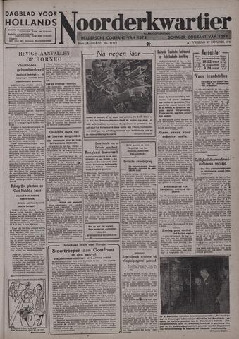 Dagblad voor Hollands Noorderkwartier 1942-01-30
