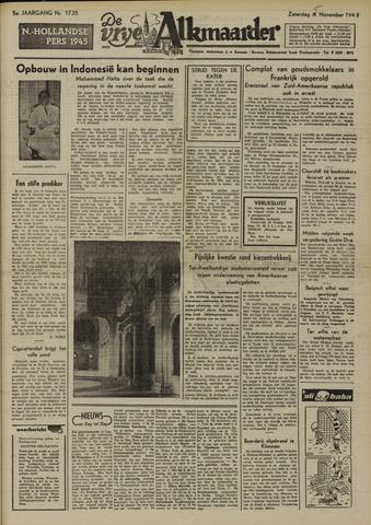 De Vrije Alkmaarder 1949-11-05