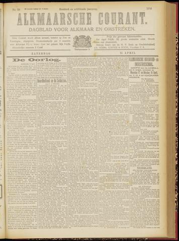 Alkmaarsche Courant 1916-04-15