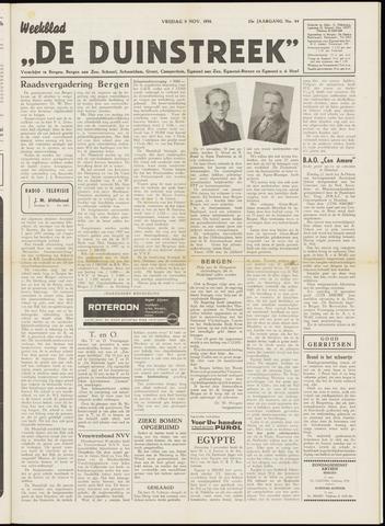 De Duinstreek 1956-11-09