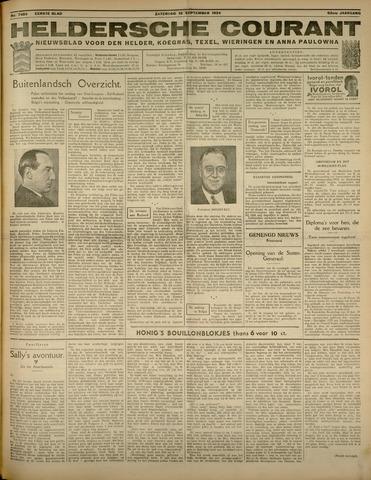 Heldersche Courant 1934-09-15