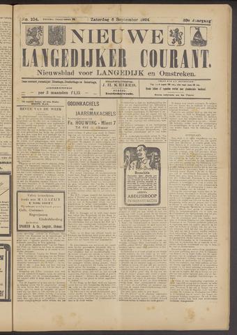 Nieuwe Langedijker Courant 1924-09-06