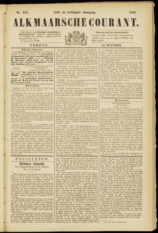 Alkmaarsche Courant 1886-10-15