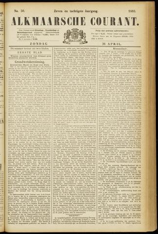Alkmaarsche Courant 1885-04-26