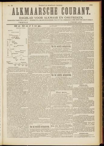 Alkmaarsche Courant 1915-02-05