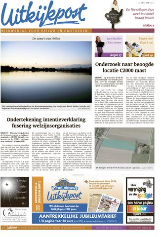 Uitkijkpost : nieuwsblad voor Heiloo e.o. 2014-10-15