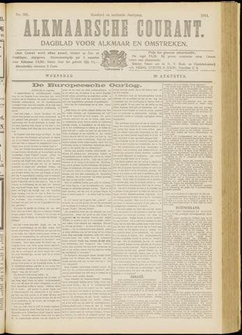 Alkmaarsche Courant 1914-08-26