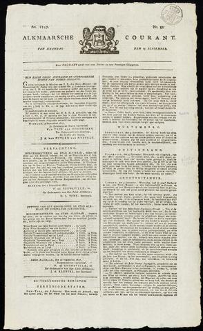 Alkmaarsche Courant 1817-09-15