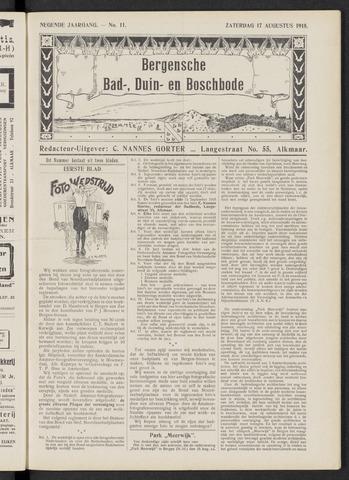 Bergensche bad-, duin- en boschbode 1918-08-17