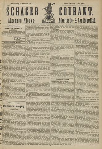 Schager Courant 1911-10-18