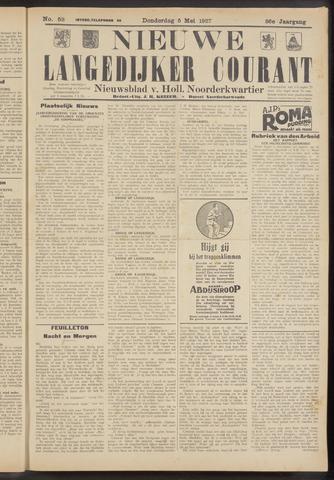 Nieuwe Langedijker Courant 1927-05-05