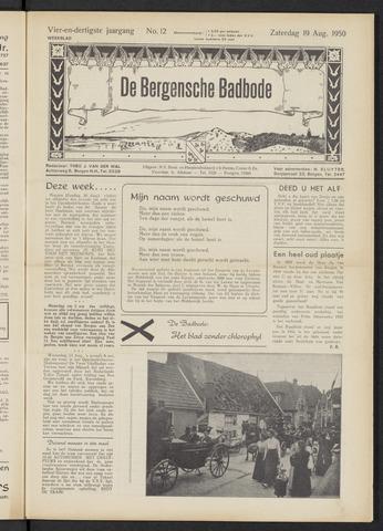 Bergensche bad-, duin- en boschbode 1950-08-19