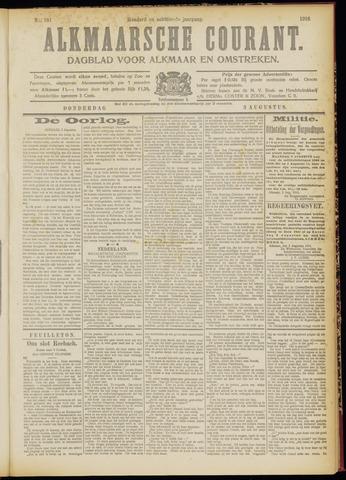Alkmaarsche Courant 1916-08-03