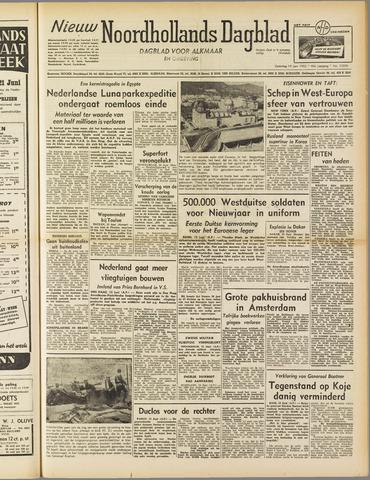 Nieuw Noordhollandsch Dagblad : voor Alkmaar en omgeving 1952-06-14