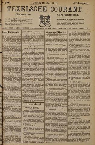 Texelsche Courant 1916-05-21