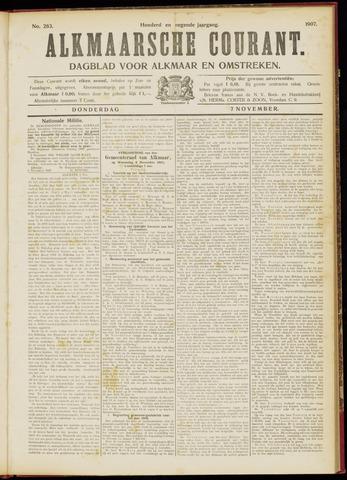 Alkmaarsche Courant 1907-11-07