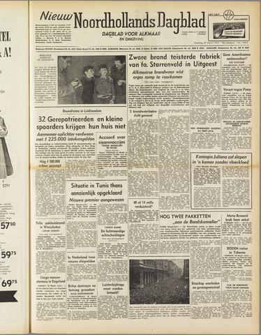 Nieuw Noordhollandsch Dagblad : voor Alkmaar en omgeving 1952-03-29