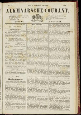 Alkmaarsche Courant 1881-10-02