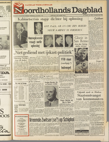 Noordhollands Dagblad : dagblad voor Alkmaar en omgeving 1965-03-20