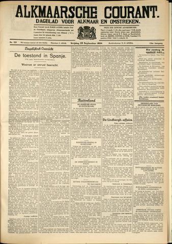 Alkmaarsche Courant 1934-09-28