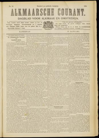 Alkmaarsche Courant 1914-01-17
