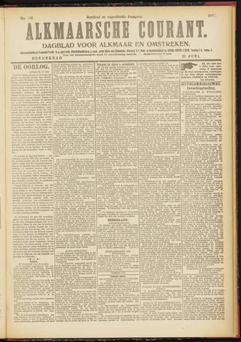 Alkmaarsche Courant 1917-06-21