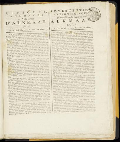 Alkmaarsche Courant 1813-11-24