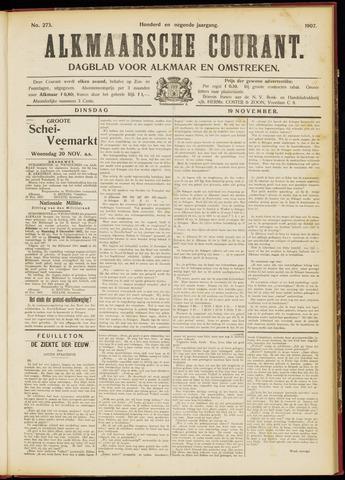 Alkmaarsche Courant 1907-11-19