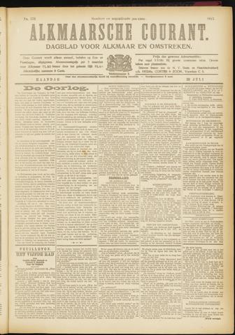 Alkmaarsche Courant 1917-07-30