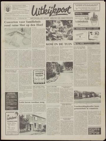 Uitkijkpost : nieuwsblad voor Heiloo e.o. 1991-08-07