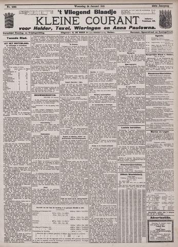 Vliegend blaadje : nieuws- en advertentiebode voor Den Helder 1912-01-24